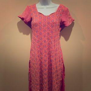 Sari Pink Indian Dress